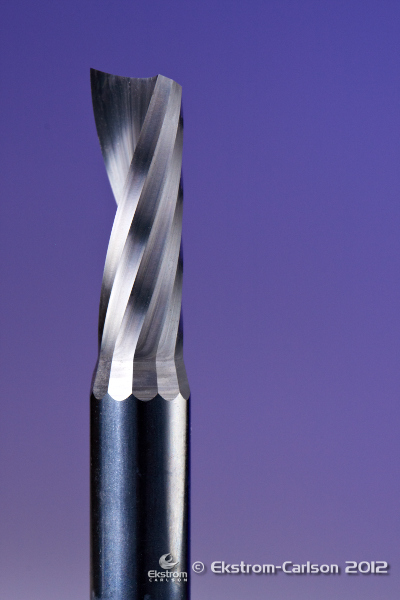 1F Spiral Upcut O Flute Router Bit 1