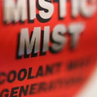 mistic mist sticker square
